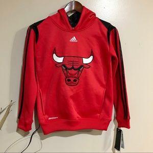 NWT Adidas NBA Chicago Bulls Youth Sweatshirt